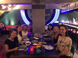 Dinner with some chicas at Azul Tapas