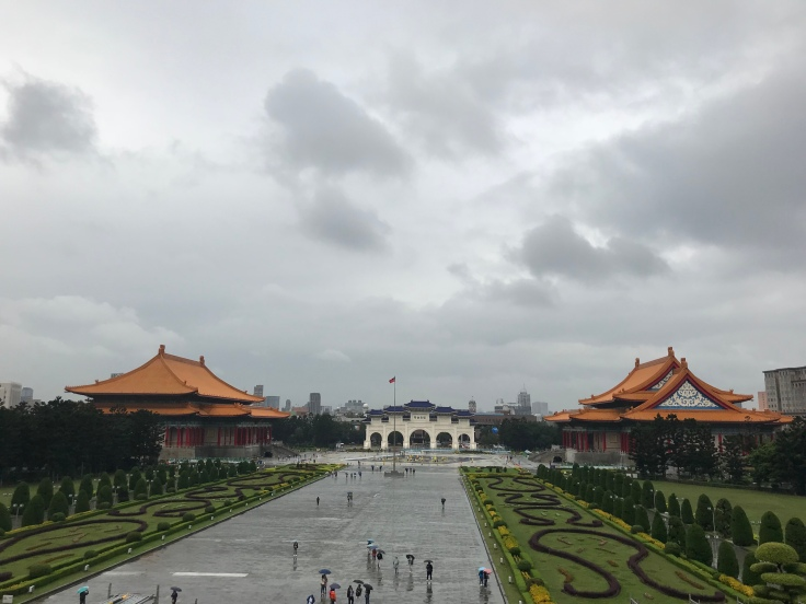View from Chiang Kai-Shek Memorial Hall